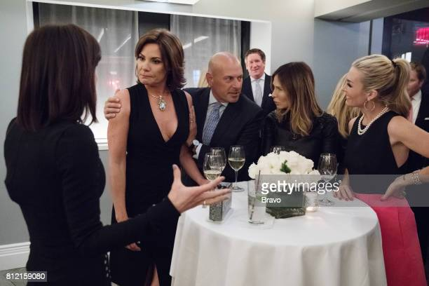 CITY 'A Countess No More' Episode 911 Pictured Luann D'Agostino Tom D'Agostino Carole Radziwill Tinsley Mortimer