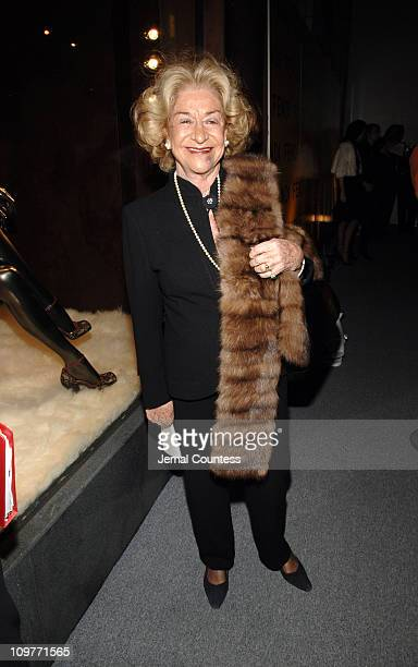 Countess of Dudley during Fendi New York City Flagship Store Opening Inside at Fendi Flagship Store in New York City New York United States