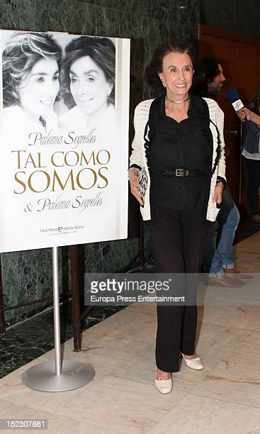 Countess of Romanones Aline Griffith attends the presentation of the book 'Tal como somos' written by Paloma Segrelles and Paloma Segrelles jr on...