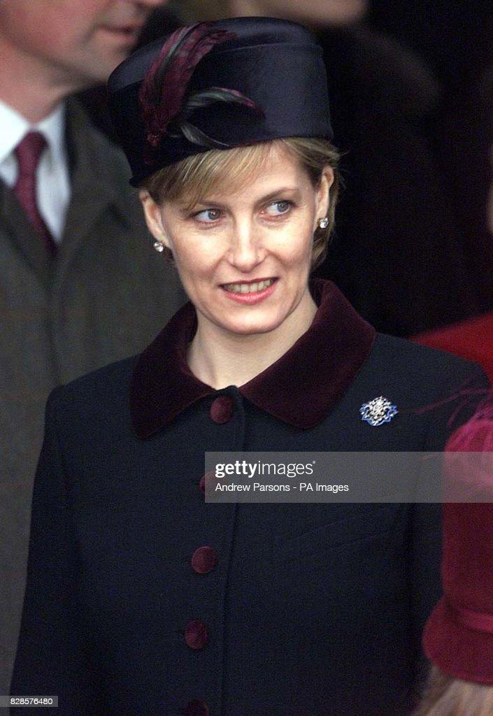 Countess of Wessex - Christmas : News Photo