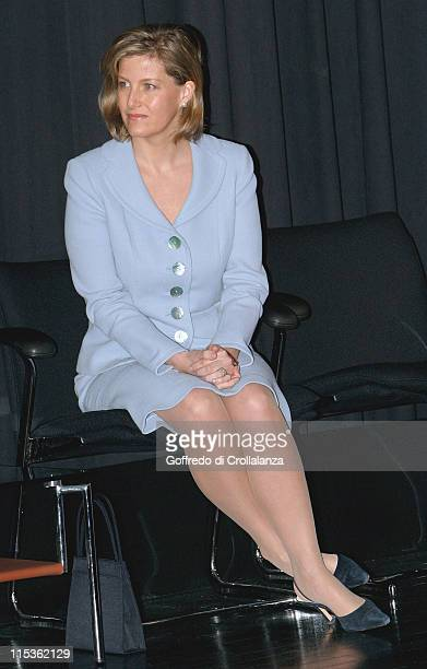 HRH Countess of Wessex during 2004 BT Childline Awards at Bt Tower in London Great Britain