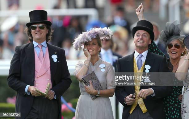 Countess of Wessex during day three of Royal Ascot at Ascot Racecourse.