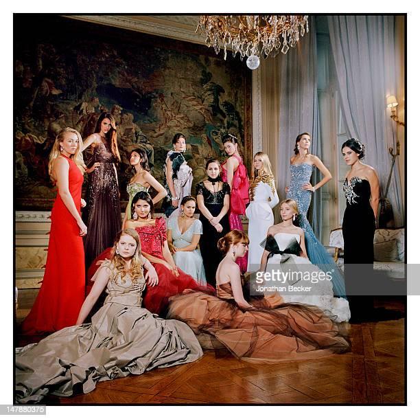 Countess Olimpia Emo Capodilista, Sarah Margaret Qualley, Shaiyra Devi of Kapurthala, Oriane Piccard, Remy Fisher, Hikari Mari, Lidia Buryak,...