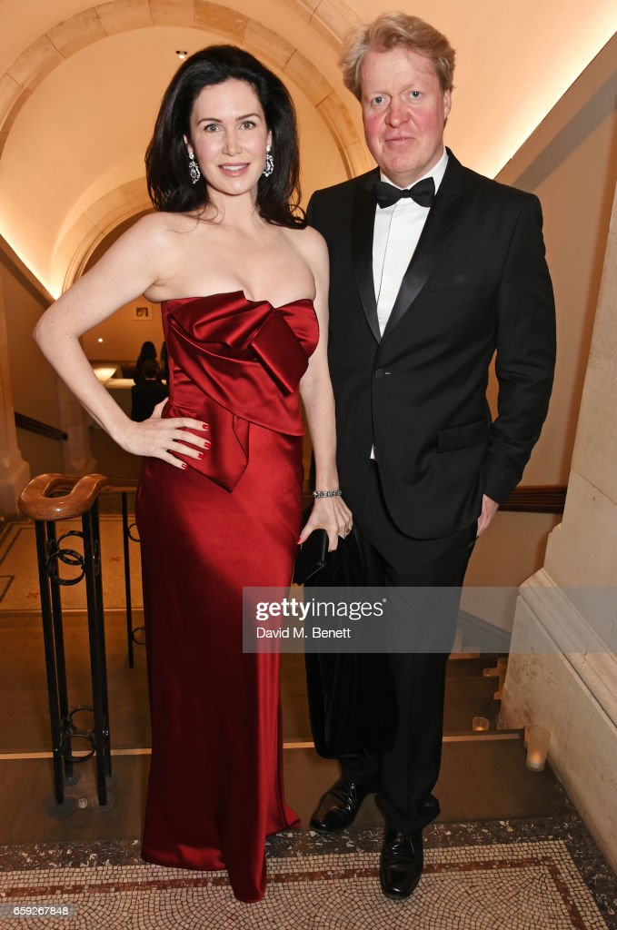 Countess Spencer (L) and Earl Spencer attend the Portrait Gala 2017 sponsored by William & Son at the National Portrait Gallery on March 28, 2017 in London, England.