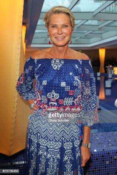 Countess Stephanie von Pfuel during the summer party of and at Hotel Bayerischer Hof on July 27 2017 in Munich Germany