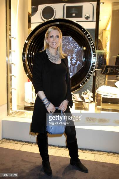 Countess Tamara von Nayhauss attends the reopening of the Tod's store on March 24 2010 in Munich Germany