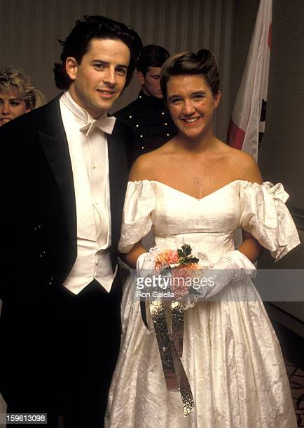 Countess Vanessa von Bismarck and Dennis Lyons attend 33rd Annual International Debutante Ball on December 29 1987 at the Waldorf Hotel in New York...