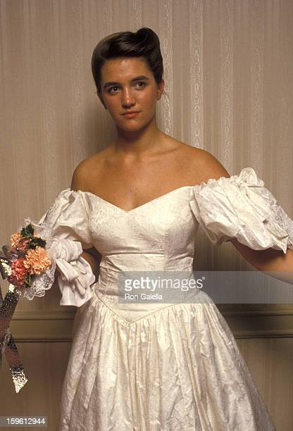 Countess Vanessa von Bismarck attends 33rd Annual International Debutante Ball on December 29 1987 at the Waldorf Hotel in New York City