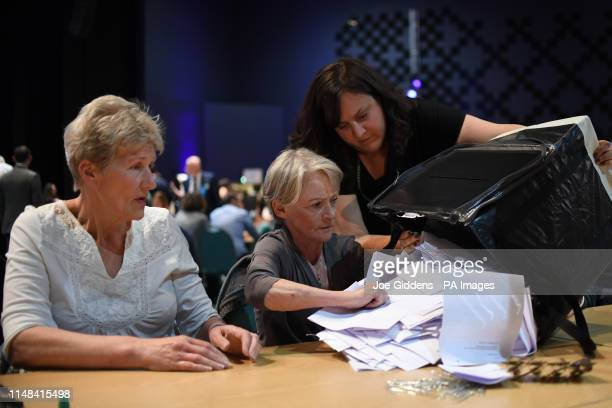 Counting begins in the Peterborough byelection at KingsGate Church in Peterborough