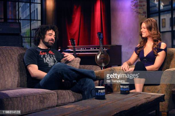 Counting Crows appear on the TV show PRIVATE SESSIONS on June 29 2008 in New York City