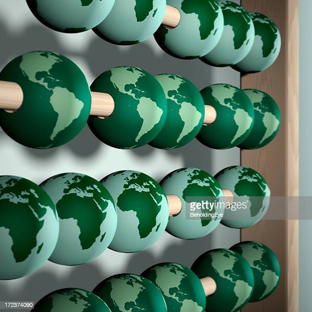 counting the cost of a green earth - climate stock pictures, royalty-free photos & images