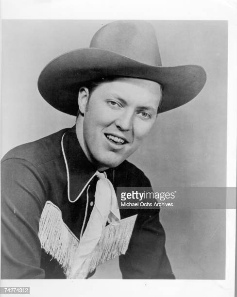 Country and Western singer Bill Haley poses for a portrait in 1949