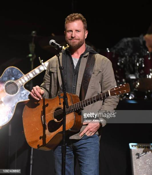 Country artist Dierks Bentley performs during the C'Ya On The Flipside Benefit Concert To Benefit The Troy Gentry Foundation at The Grand Ole Opry on...