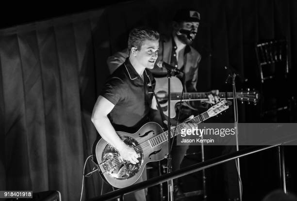 Country artist Hunter Hayes performs new songs at Regal Green Hills on February 14 2018 in Nashville Tennessee