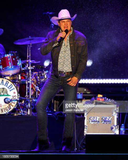 Country artist Jon Pardi performs at the Bonnaroo On The Farm Concert Series featuring Jon Pardi with special guest Jameson Rodgers on May 29, 2021...
