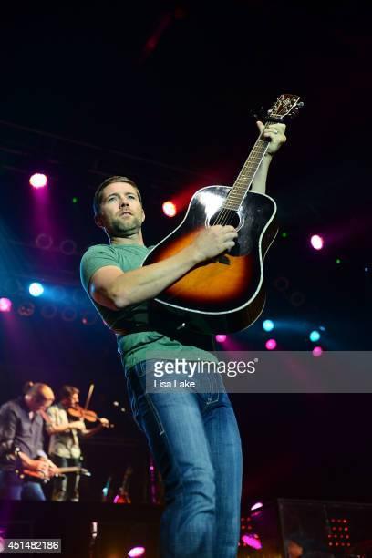 Country artist Josh Turner performs at Sands Bethlehem Event Center on June 29 2014 in Bethlehem Pennsylvania