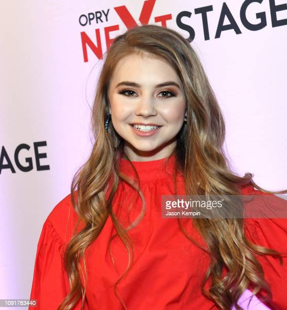 Country artist Tegan Marie attends the 2018 Opry NextStage at Ole Red on January 08 2019 in Nashville Tennessee