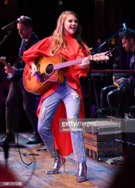 Country artist Tegan Marie performs at the 2018 Opry NextStage at Ole Red on January 08 2019 in Nashville Tennessee
