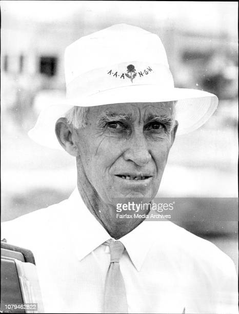 NSW Country Athletics ChampionshipsMr Ray Frith treasurer of the AAA of NSW and Chairman of the Australian Champ Committee January 27 1973
