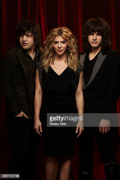 Country band The Band Perry for Billboard Magazine on March 7 2013 in Nashville Tennessee