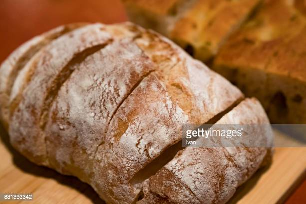 Country Bread, Bauernbrot, Vollkornbrot, Homemade sourdough bread
