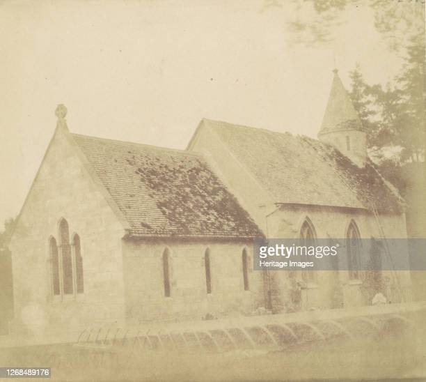 Country Church 1850s Artist Unknown