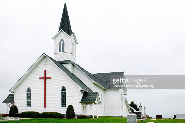 country church - church stock pictures, royalty-free photos & images