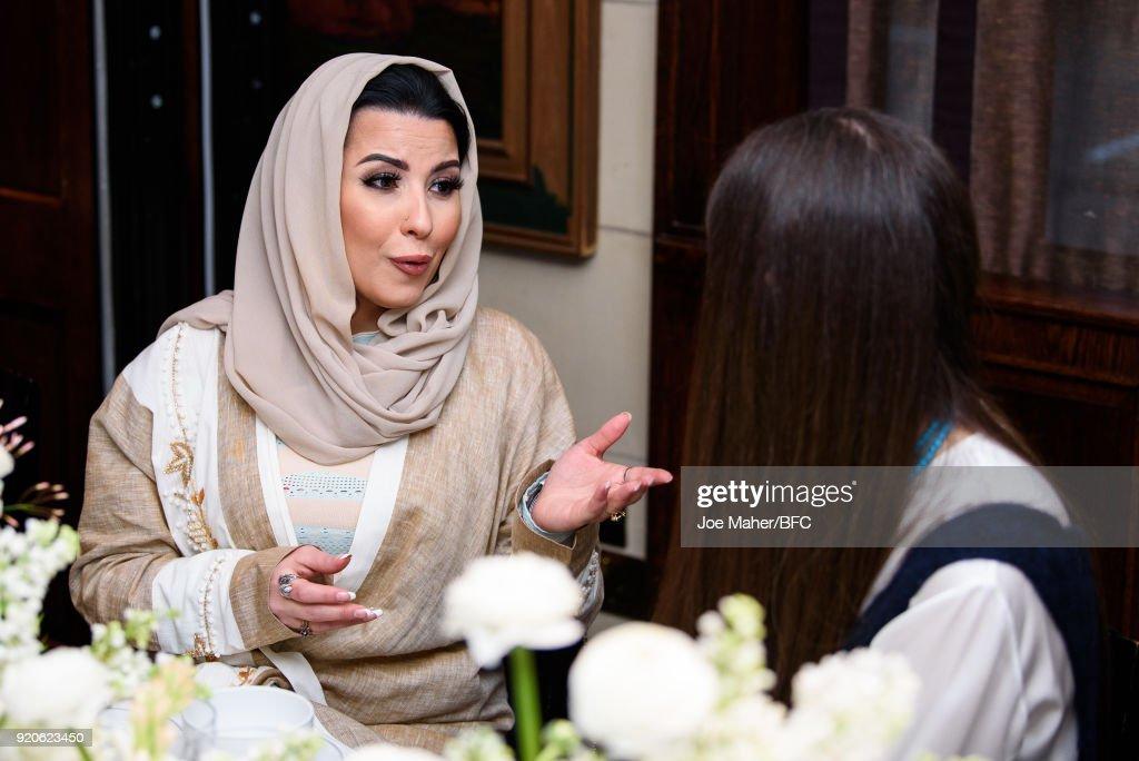 Arab Fashion Council Breakfast - LFW February 2018
