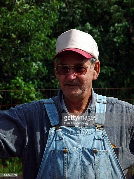 country farmer - bib overalls stock pictures, royalty-free photos & images