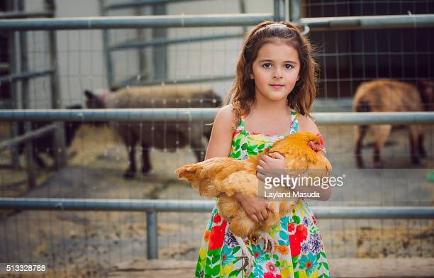 Country Girl - Red Hen