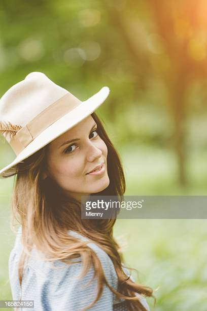 Country Girl,Natural Outdoors Portrait