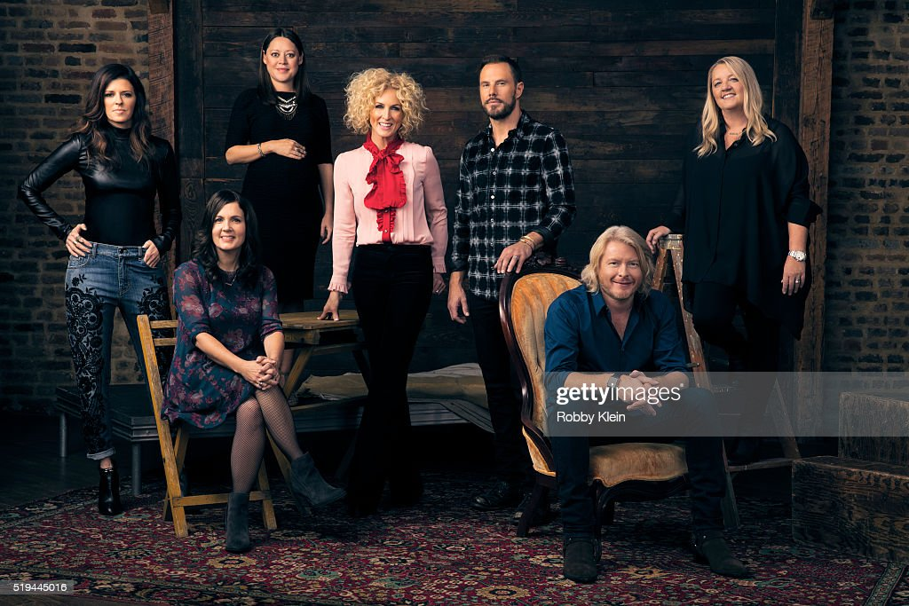 Little Big Town and Girl Crush writers, Billboard, December 11, 2015