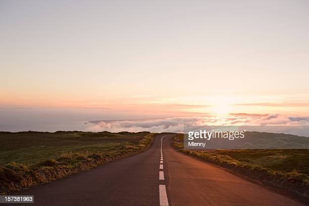 country highway to heaven - eternity stock pictures, royalty-free photos & images