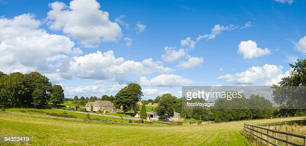country home and paddock - paddock stock photos and pictures