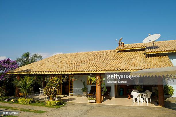 Country House Brazil Blue Sky