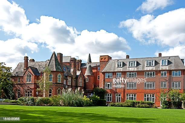 Country house hotel building, Canterbury, UK