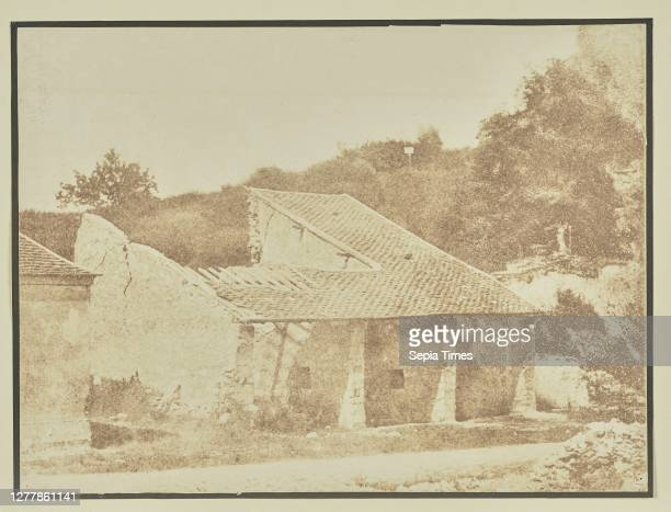 Country house in ruins; Hippolyte Bayard ; about 1840–1849; Salted paper print; 16.4 × 21.7 cm .