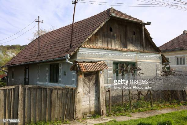 country house in szék, transylvania, romania - traditionally hungarian stock pictures, royalty-free photos & images
