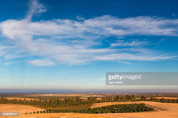 Country landscape in Fresno Valley