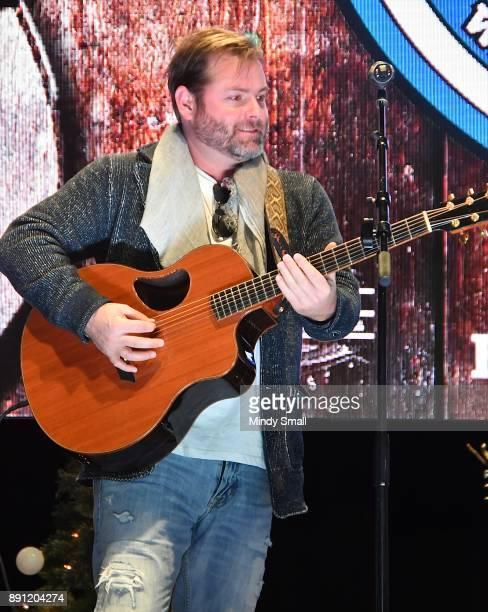 Country music artist Andy Griggs performs during the 'Keepin' it Country with Daryle Singletary' show during the National Finals Rodeo's Cowboy...