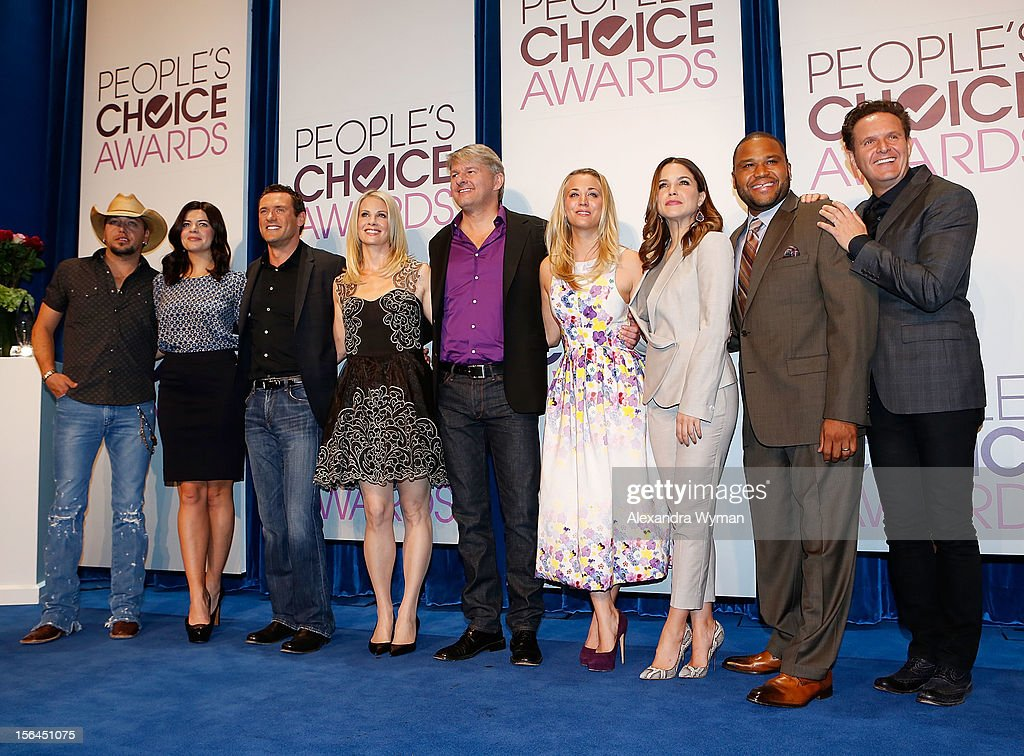 People's Choice Awards 2013 Nomination Announcements : News Photo