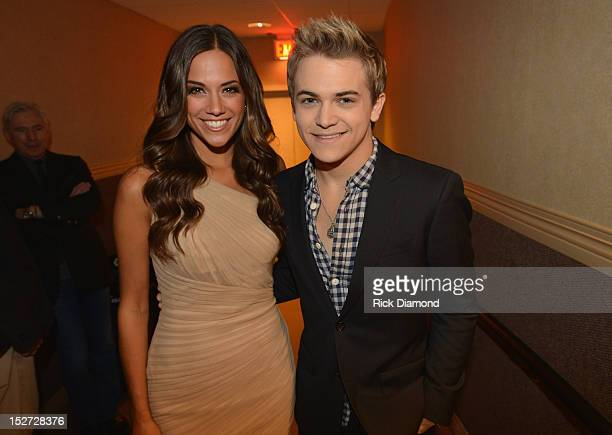 Country music artists Jana Kramer and Hunter Hayes attend the 6th Annual ACM Honors at Ryman Auditorium on September 24 2012 in Nashville Tennessee