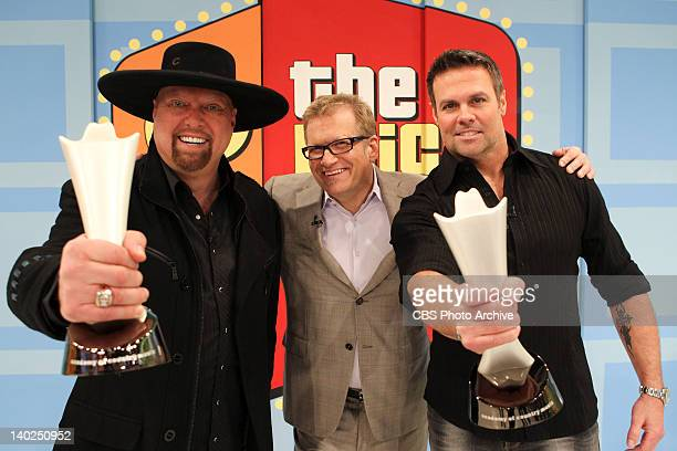 Country music duo Montgomery Gentry stops by THE PRICE IS RIGHT with host Host of THE PRICE IS RIGHT Drew Carey center for the Academy of Country...