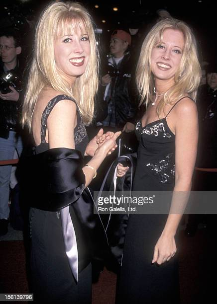 Country music duo The Kinleys attend the 40th Annual Grammy Awards After Party hosted by Sony Music Records on February 26 1998 at Manhattan Center...