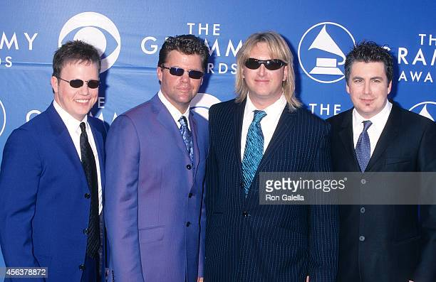 Country music group Lonestar attend the 44th Annual Grammy Awards on February 27 2002 at Staples Center in Los Angeles California