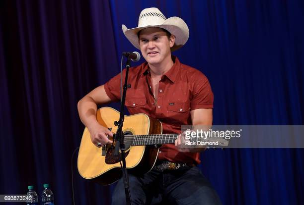 Country Music Hall of Fame and Museum hosts Jon Pardi for a Songwriter Session at Music Fest at the Hall on June 8 2017 in Nashville Tennessee