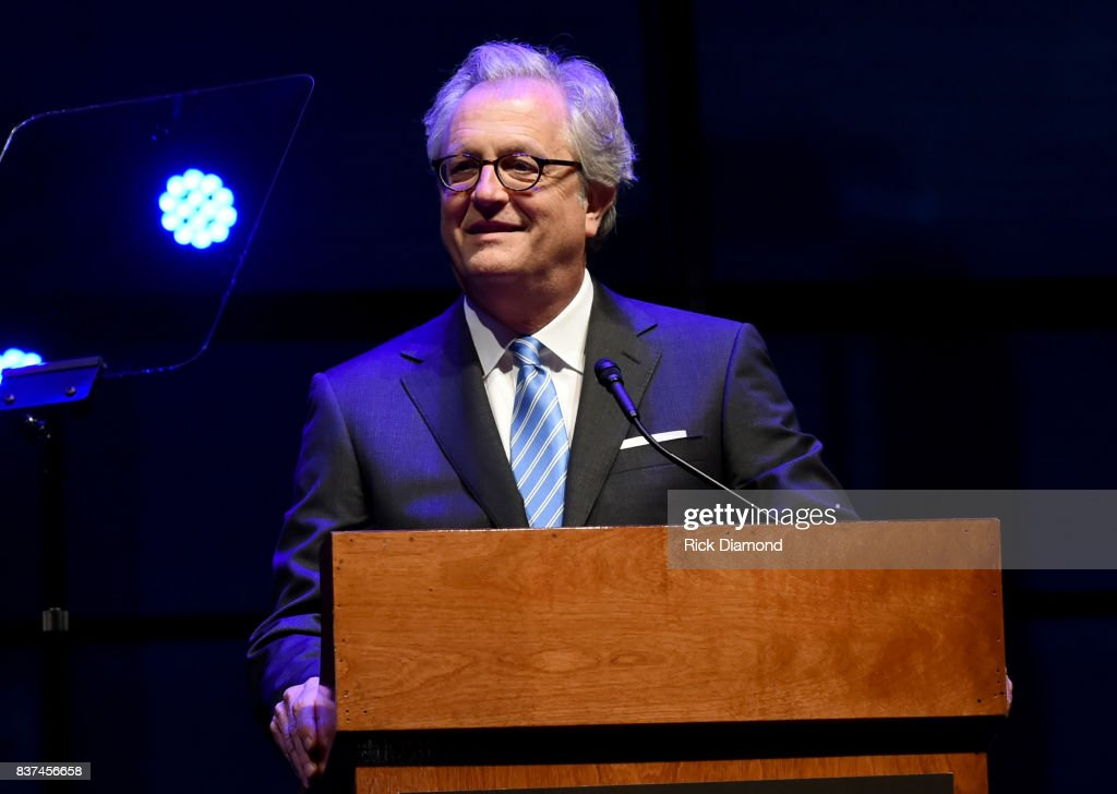 Country Music Hall of Fame and Museum's Kyle Young speaks onstage during the exhibition opening of Loretta Lynn: Blue Kentucky Girl at Country Music Hall of Fame and Museum on August 22, 2017 in Nashville, Tennessee.