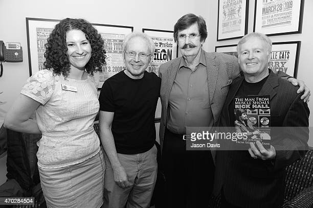 Country Music Hall of Fame Public Programs Manager Abi Tapia Writer Peter Guralnick Producer Rick Hall and Heritage Builders Publishing President and...