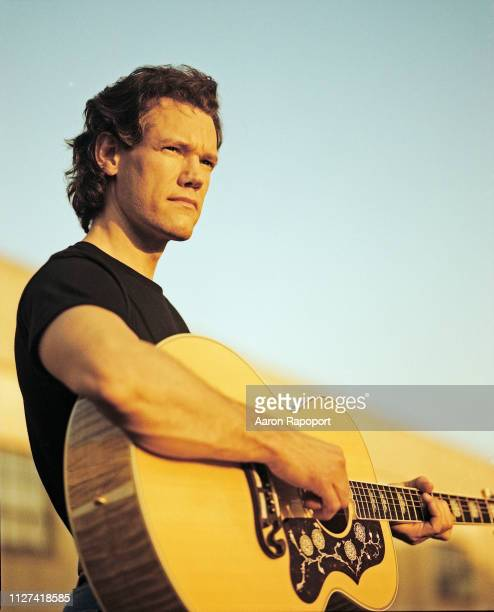 Country music legend Randy Travis poses for a portrait session in Los Angeles California