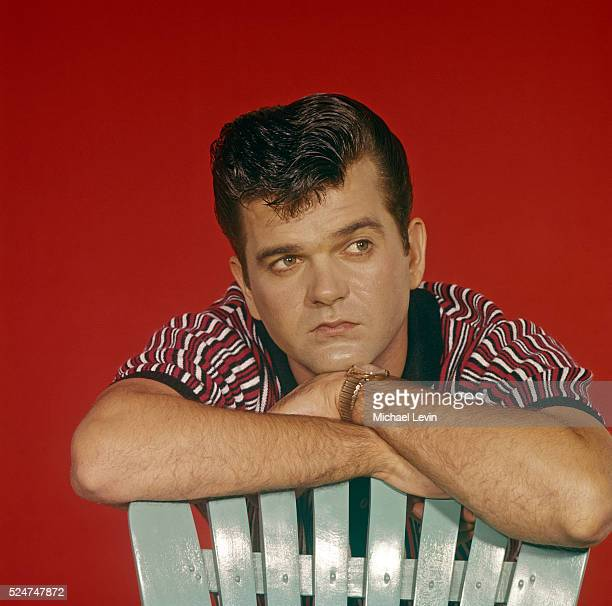 Country music singer Conway Twitty.